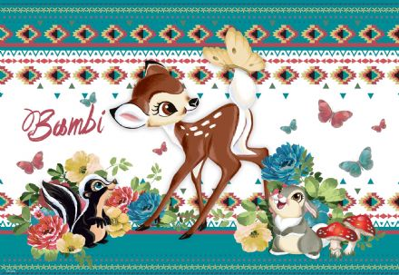 "Bambi nursery wallpaper from Disney ""Easy Install"""